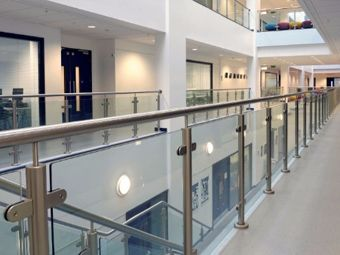 Commercial Glass Fencing and Railing contractor